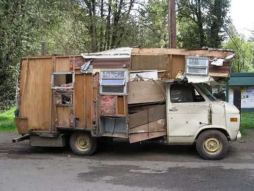 """Full Time RV Road Warriors: Best Of Custom """"So Ugly It's Cool"""" Campers lll"""