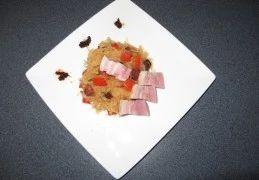 Recept voor Pittige zuurkool met paprika, chorizo en sambal
