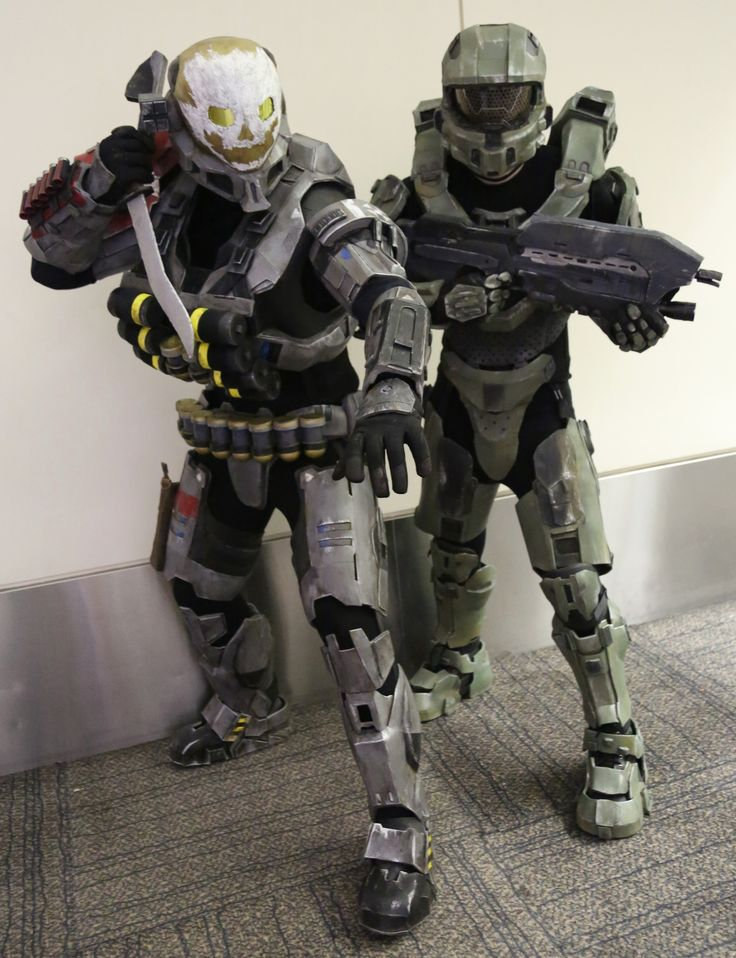 https://flic.kr/p/C46zxj | Emile from Halo: Reach, and Master Chief from Halo 4 & 5, all video games