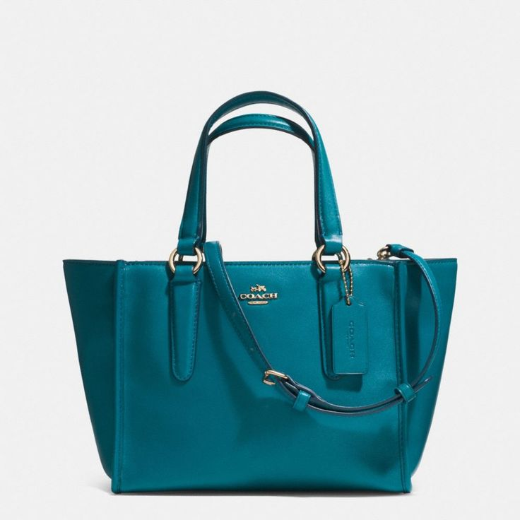 The Crosby Mini Carryall In Smooth Leather from Coach