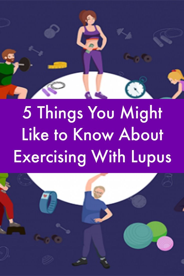 5 Things You Might Like to Know About Exercising With Lupus #LupusNewsToday