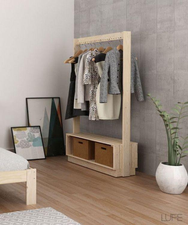Garderobe Aus Holz Garderobe Furnituredesigns Varal De Madeira