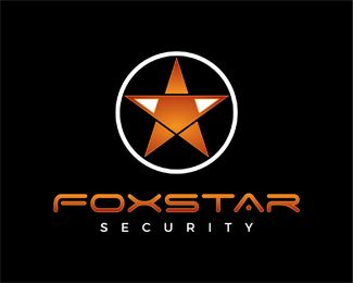 Fox Star Security Logo design - Great logo for security and protection business. Price $400.00