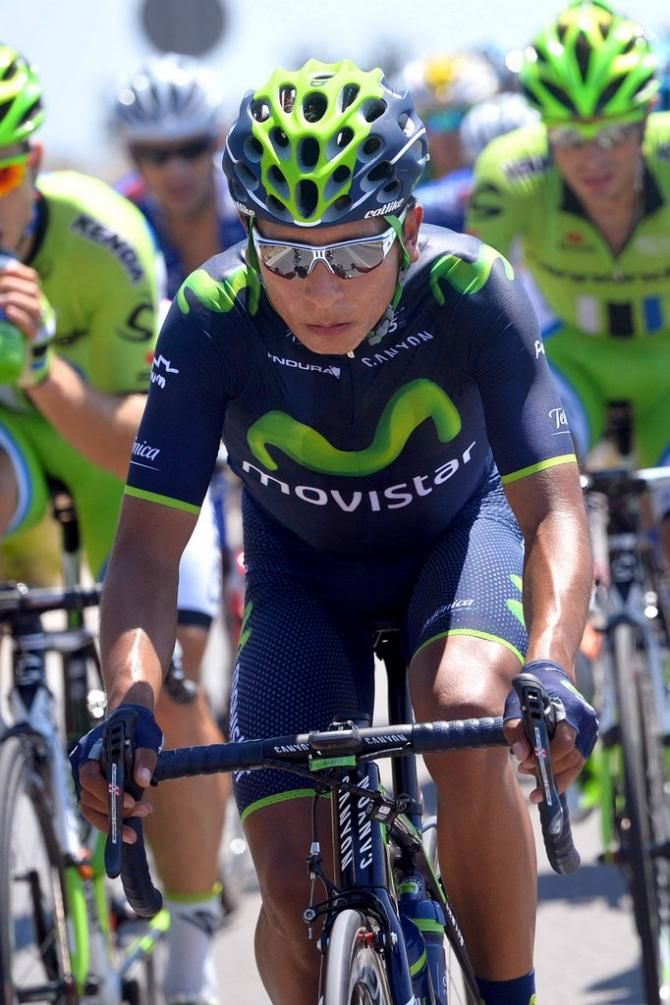 Vuelta a España 2014 - Stage 2: Algeciras - San Fernando 174.4km - Nairo Quintana (Movistar)