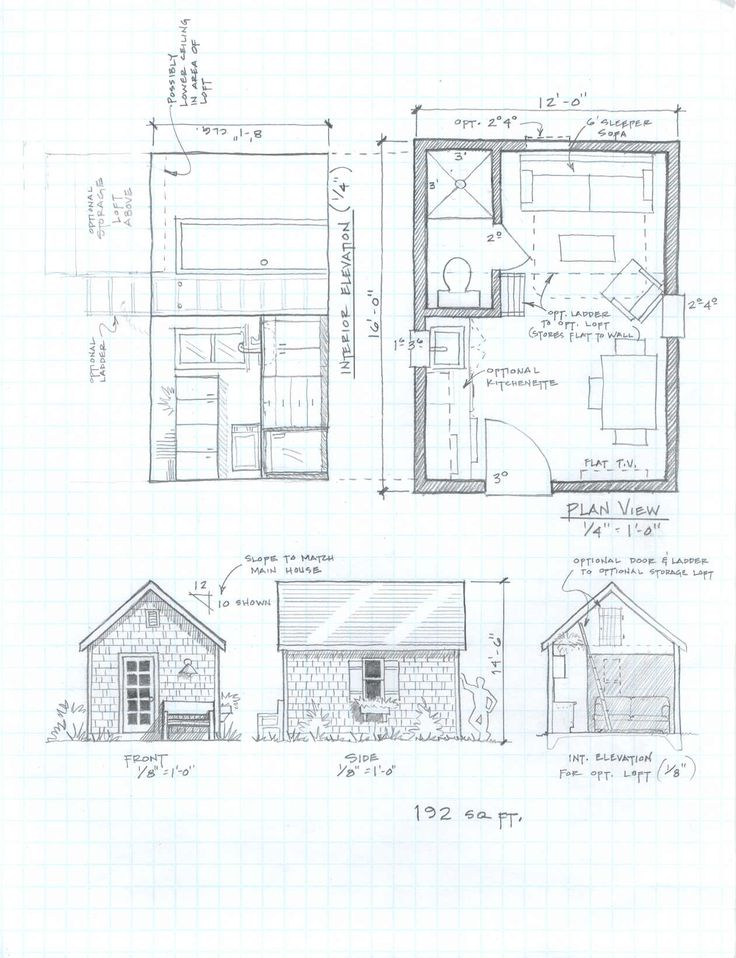 Free small footprint house plans for Small footprint cabin