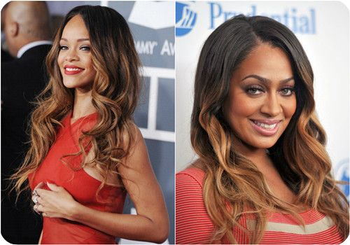 brown to blonde ombre hair color 2013 for black women