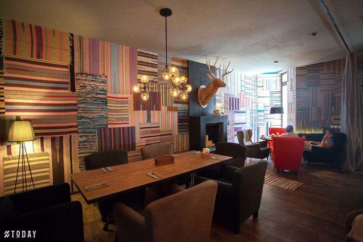 VOILOK, restaurant design by S. Gorshunov, A. Feoktistova