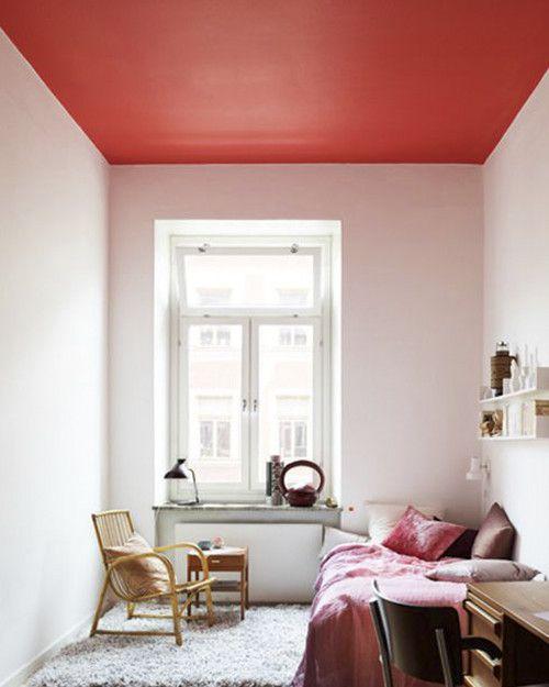 12 techos pintados que llevan el arcoíris tu casa