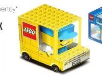 lego camion papertoy