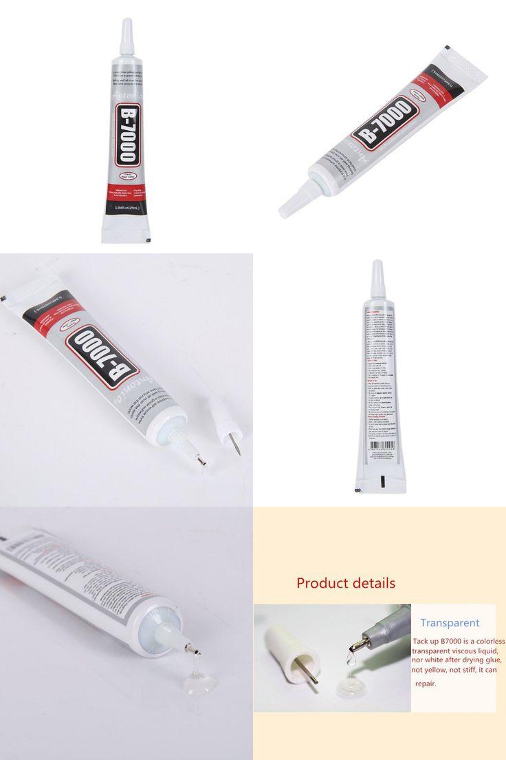 [Visit to Buy] B7000 Glue 25ml Industrial Strength Super Adhesive Clear Liquid B-7000 Glue Diy Phone Case Crafts Pearls Rhinestones #Advertisement