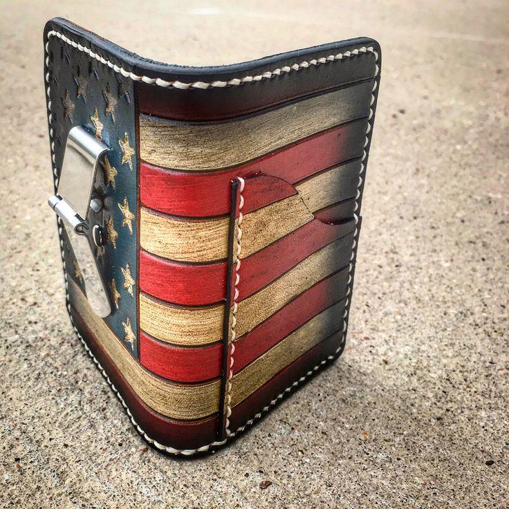 Freedom Card Wallets. Original design by The Proper Gentleman. @thepropergentleman_
