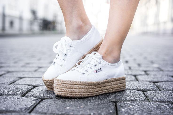 Superga Sneakerdrilles Plateau weiß Schuhe Schuhtrend Fashionblog Sunnyinga