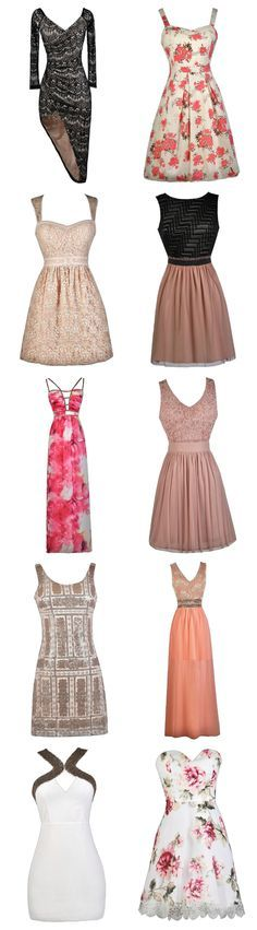 Gorgeous new pink Lily Boutique dresses at WWW.LILYBOUTIQUE.COM. Free shipping over $75!