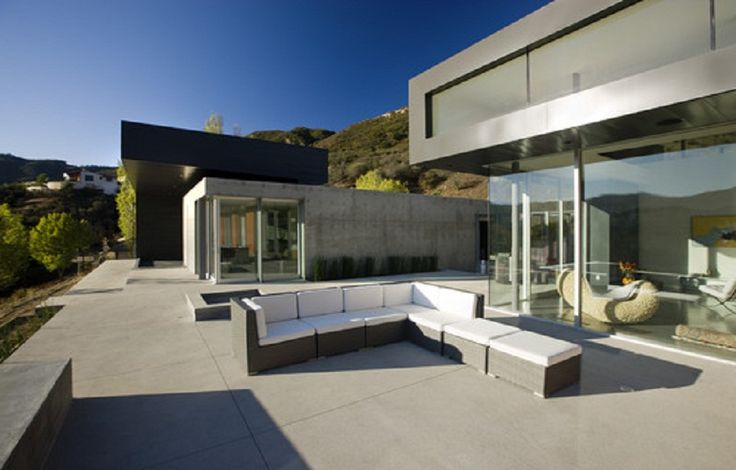 1000 images about concrete patio designs on pinterest for Patios minimalistas
