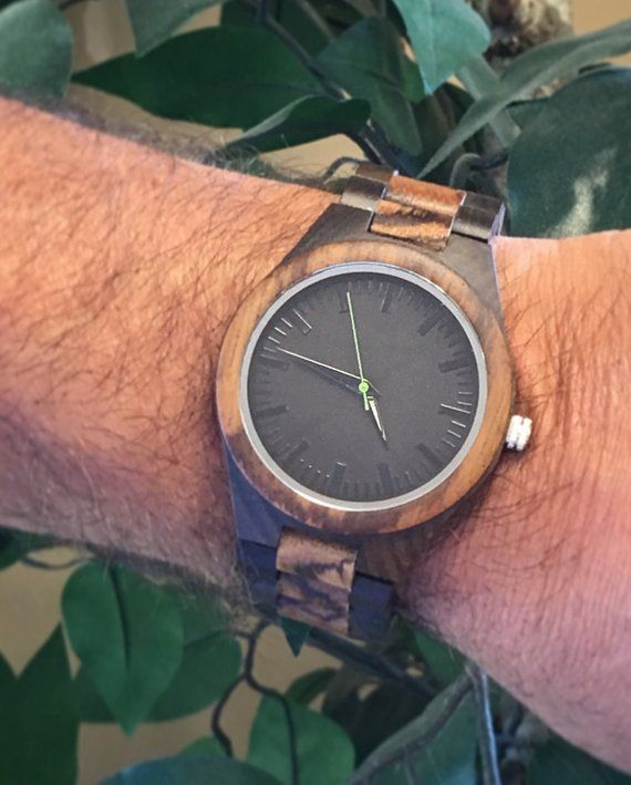 Personalized Wood Watch, Groomsman Gift, Mens Watch, Gifts for Men