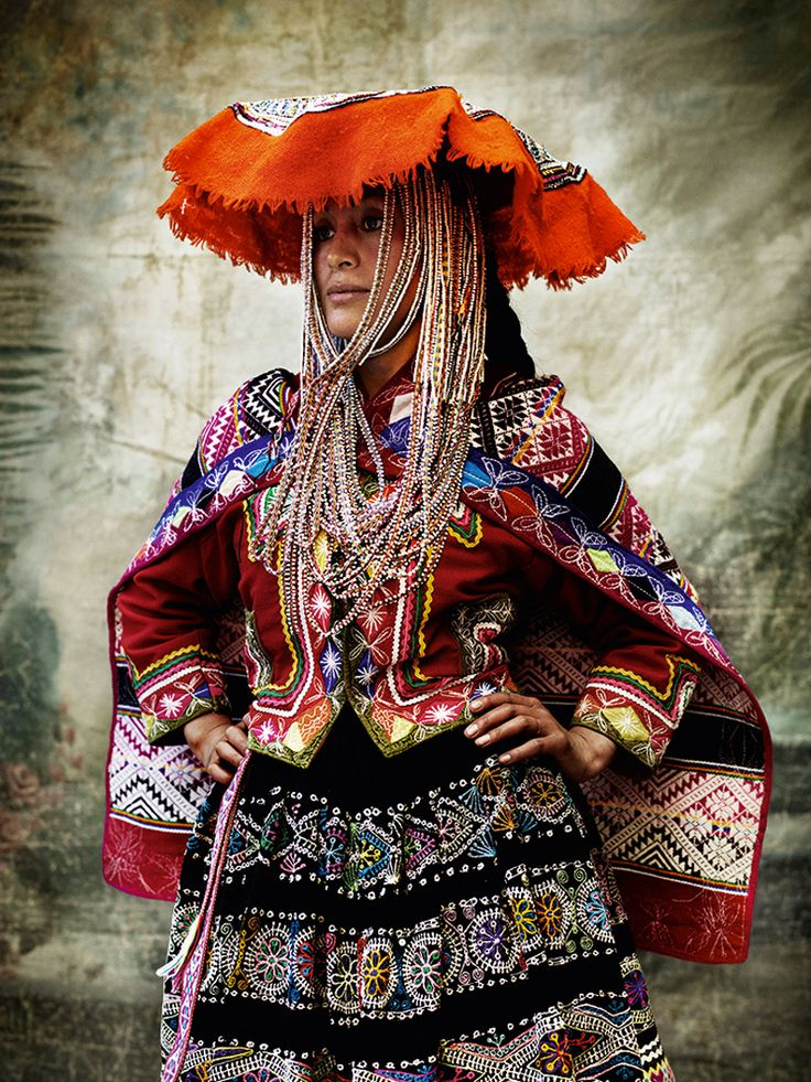 Alta Moda is a personal project for fashion photographer Mario Testino. It brought him to his home of Peru to capture the Peruvian culture and traditional dress – the Mario Testino way.