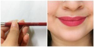 Miss Claire Sense Red Glimmerstick For Lips Review Hello to all the readers! I know you are looking beautiful today ❤ I'm here today to review Miss Claire Glimmerstick Lip Pencil Sense Red for you all. I bought this a week ago. Not wasting much time and getting onto the review directly. These lip pencils which are known to be dupes of the NYX Matte Lip Cream lip […]  The post  Miss Claire Sense Red Glimmerstick For Lips Review  appeared first on  Glossypolish .  https://www.gloss..