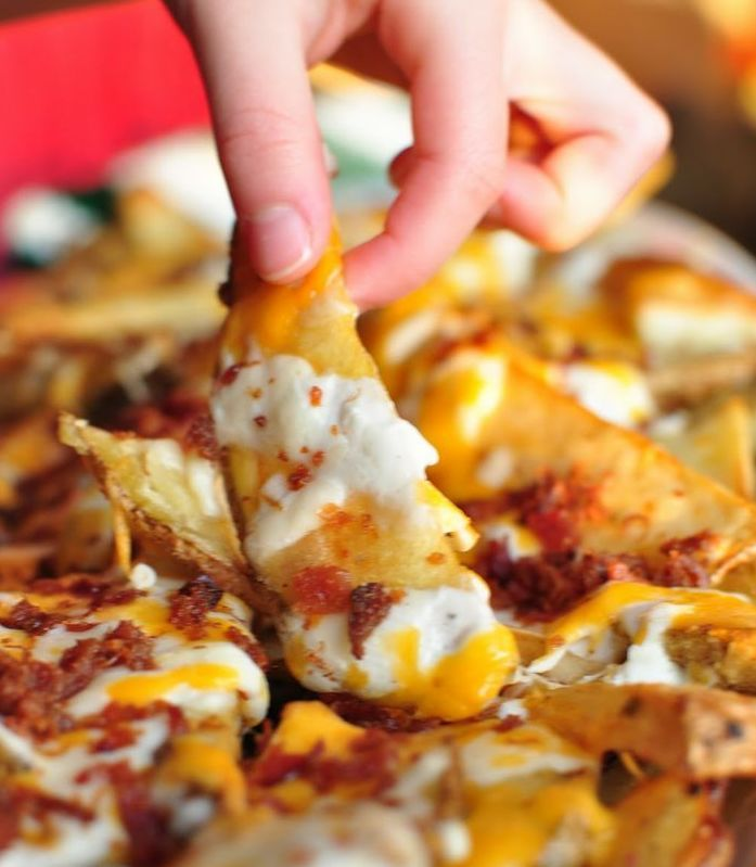 Cheesy Potato Wedges - Recipes - SavingsMania