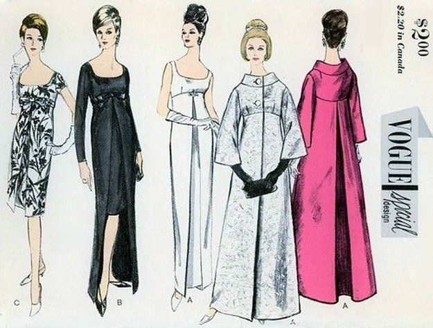 Evening Dress and Theater Coat Patterns | Sew These Inspiring Vintage Sewing Patterns For An Ultimate Throwback