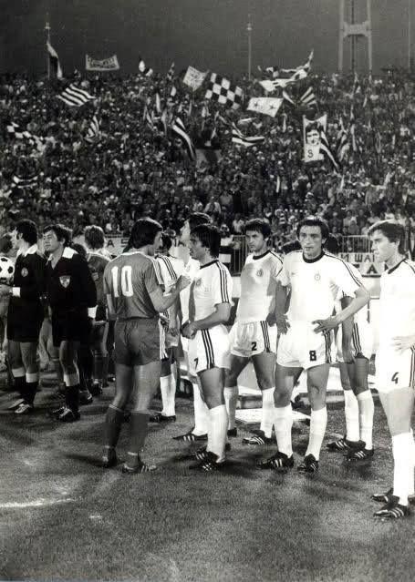 FK Partizan - Olimpija, mid-70's