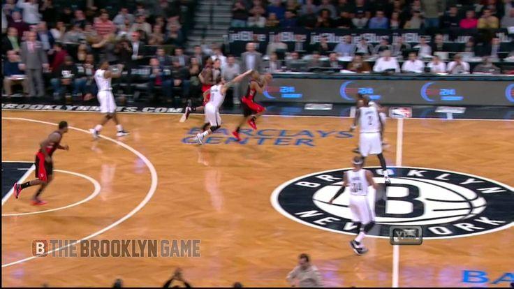 Kyle Lowry's Halfcourt Buzzer Beater vs Nets