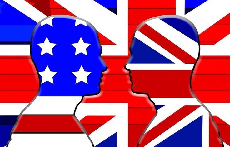 Британский английский vs американский английский - Anews