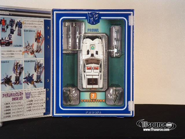 #transformer reissue - transformers collection - tfc #2 prowl