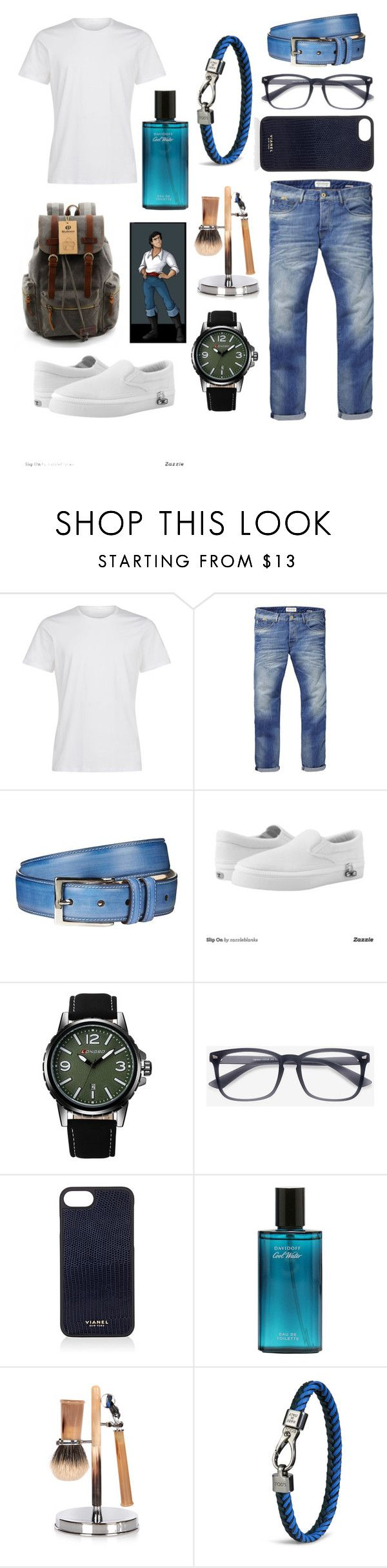 """""""Prince Erik 🐠🐬"""" by mmcook07 ❤ liked on Polyvore featuring Scotch & Soda, Harrods, Zipz, Vianel, Cedes, Tod's, men's fashion and menswear"""