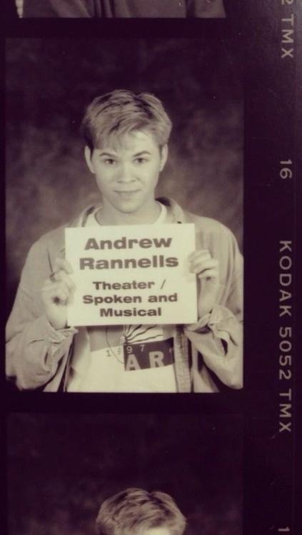 Baby Andrew Rannells ahhhhhhhhH!!!!!!!