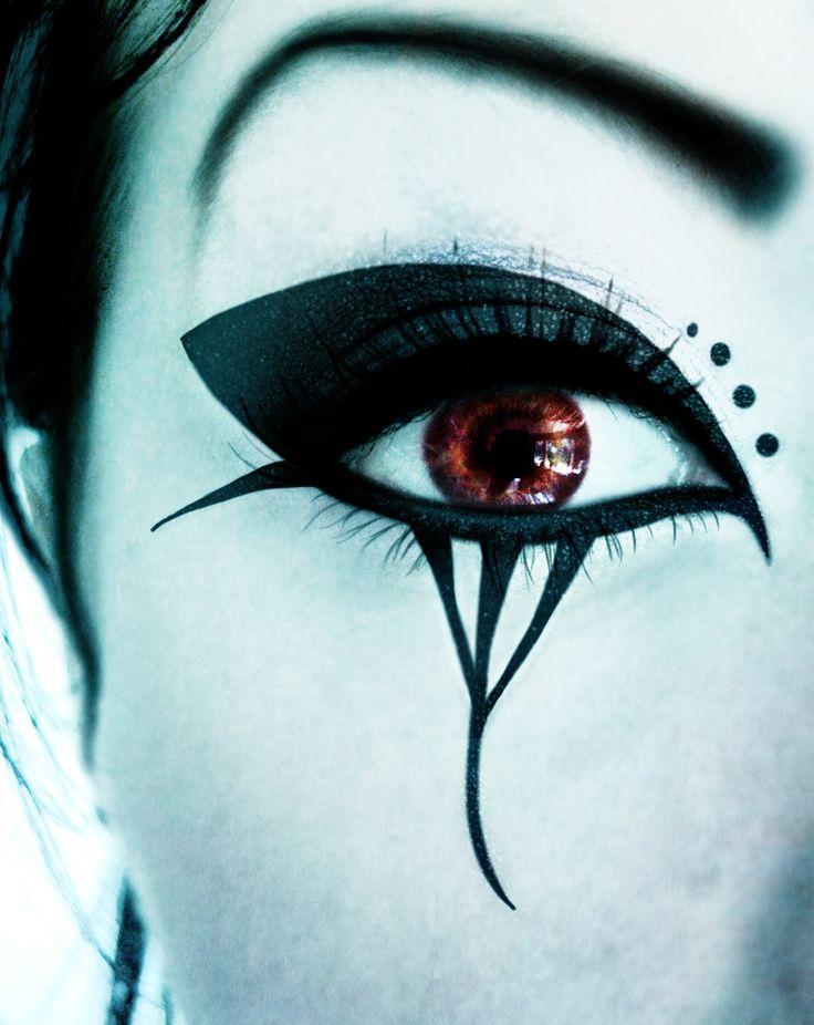 Deathrock make-up II by ~DarkAsteria