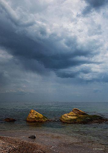 Грозовые облака...