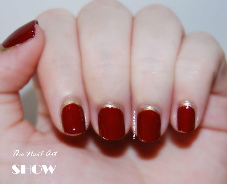 40 Uñas decoradas color rojo que podes usar para recibir el 2015   Decoración de Uñas - Manicura y NailArt