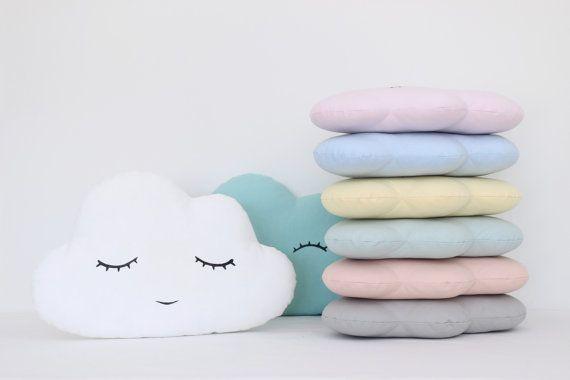 Nuage oreiller 8 coloris blanc bleu menthe par ProstoConcept