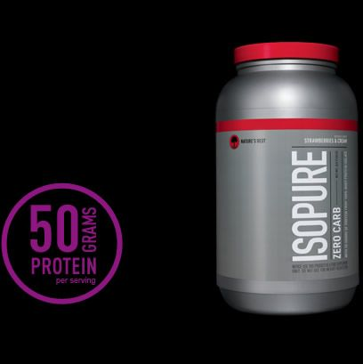 Isopure protein powder