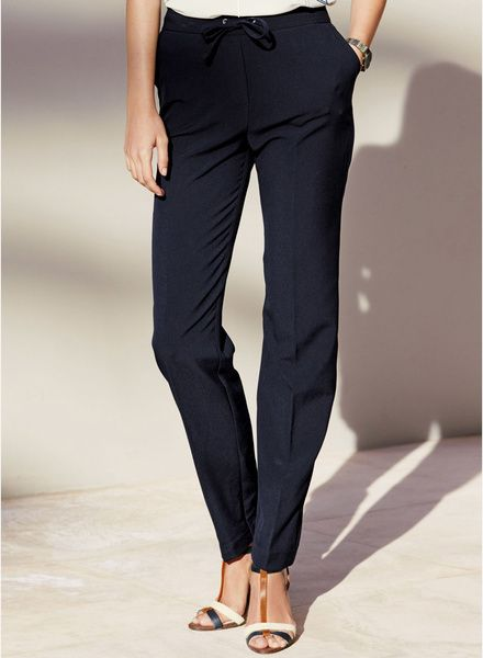 Buy Next Tapered Workwear Trousers for Women Online India, Best Prices, Reviews   NE988WA58JANINDFAS