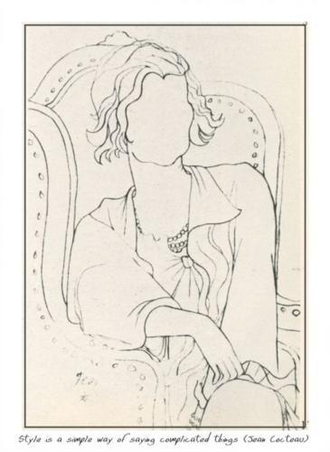 Chanel  - Jean Cocteau - Expressionism, 1932
