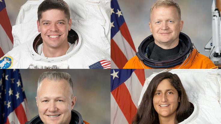 Meet the first astronauts for NASA's commercial space flight program