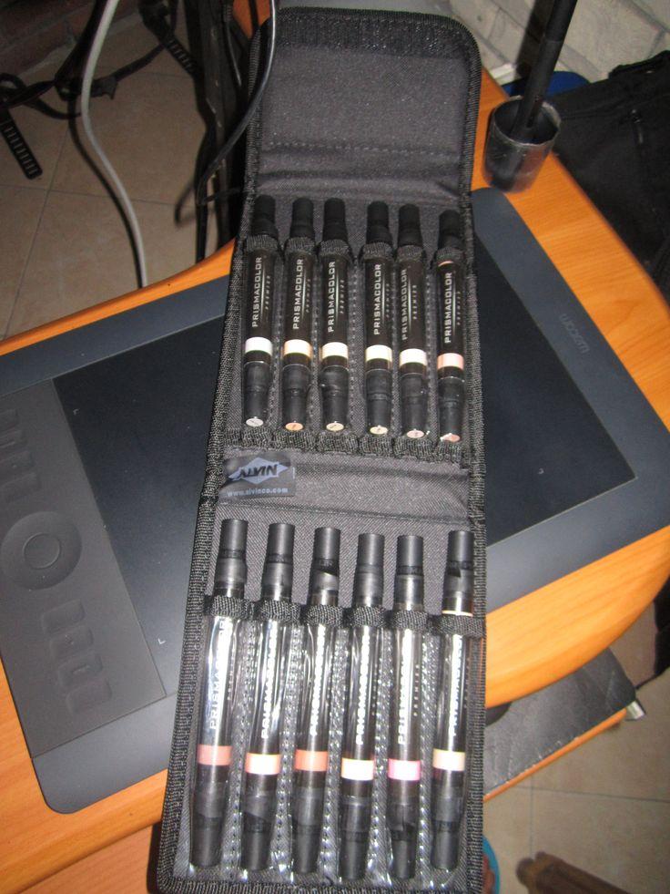 Prismacolor Skin Tone Marker Kit 12 Color Set
