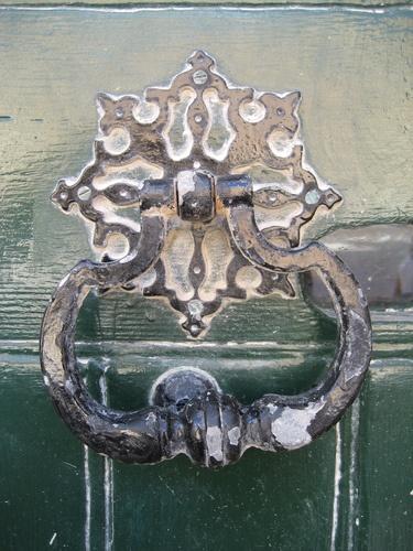 A beautiful door knocker in Mdina, Malta