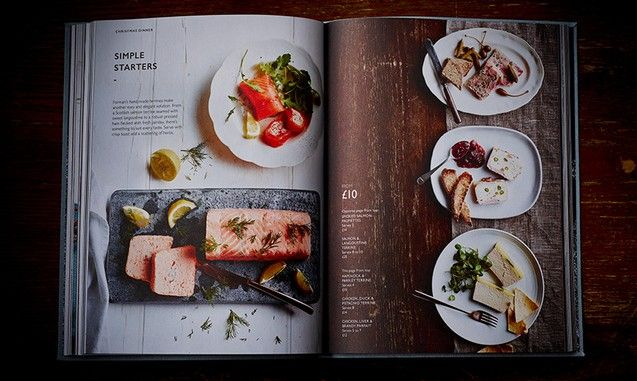 another spread from Booths Christmas book 2014 by smithandvillage.com