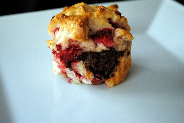 Gluten Free Strawberry Nutella Muffins by ClareCooks!, via Flickr