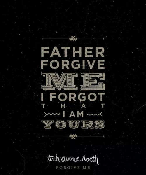 Forgive me christian song