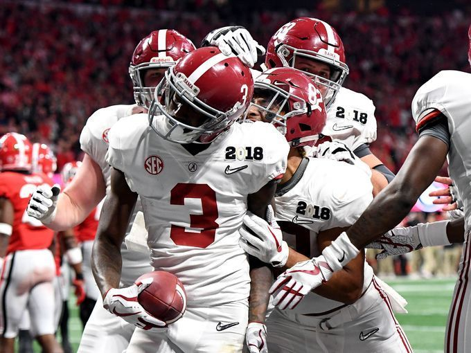 Alabama Crimson Tide Wide Receiver Calvin Ridley 3 Crimson Tide Football Football Redskins