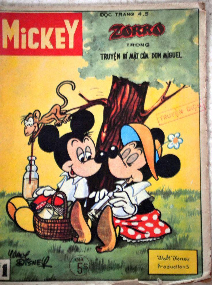 Vietnam - Mickey (Vietnamese). Scanned image of comic book (© Disney) cover.
