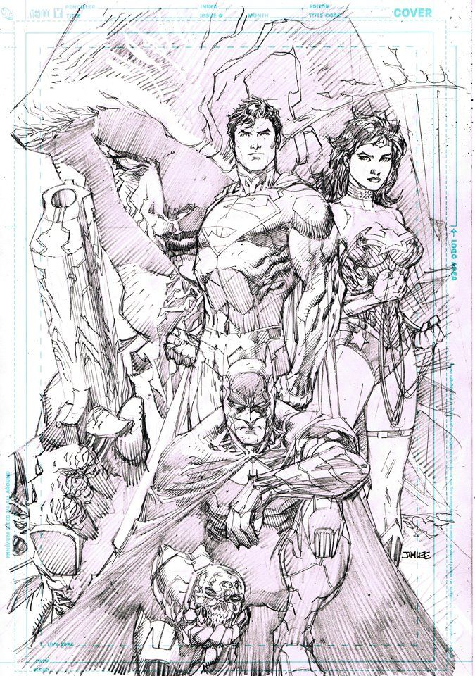Free Comic Book Day cover prelim by Jim Lee