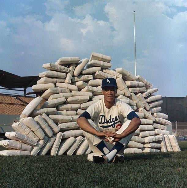 Baseball Player Maury Wills