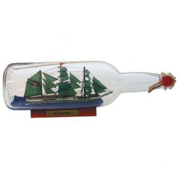 Maritimes Buddelschiff-Flaschenschiff Alexander von Humboldt für den Sammler und als schöne Geschenkidee     KEINE VERSANDKOSTEN INNERHALB D...