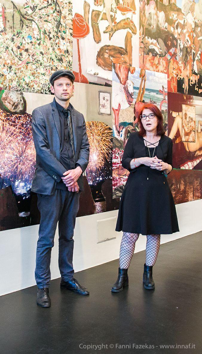 Giusi Diana e Michele Bubacco @ the vernissage