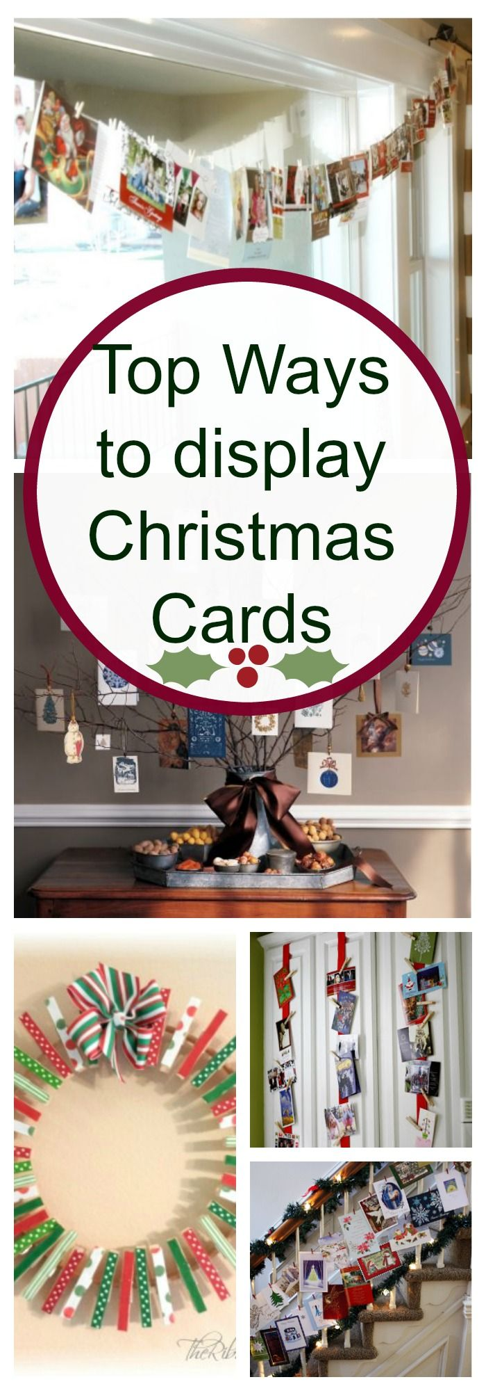 If you are looking for ways to display your Christmas cards, we have them!!