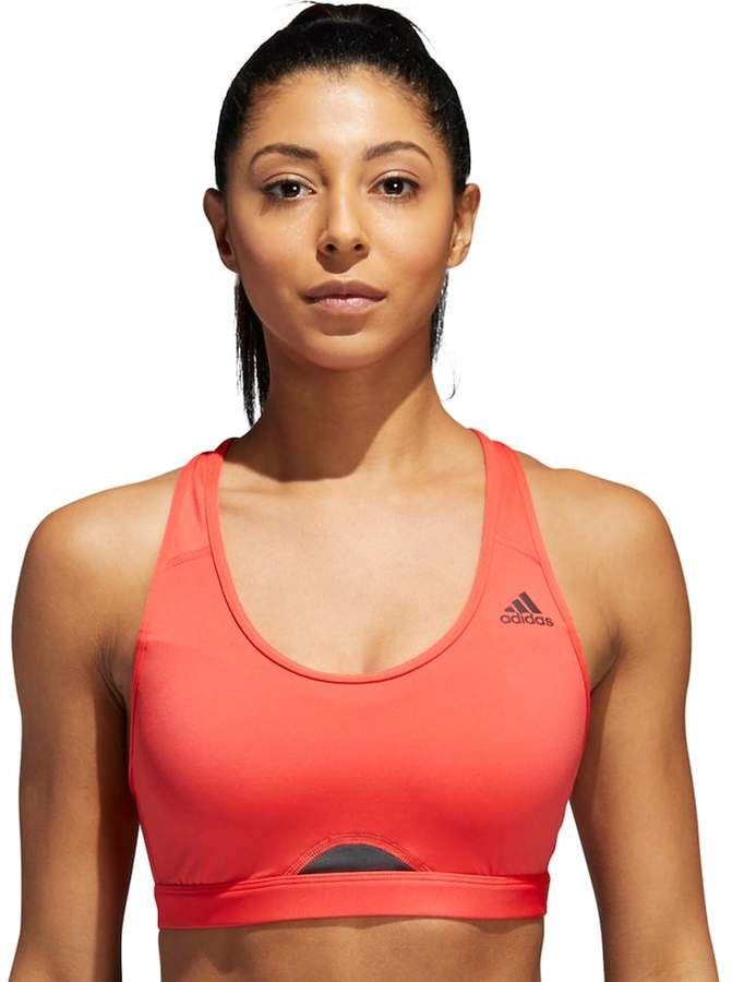 3f04cca7e24 adidas Women's Racerback High-Impact Sports Bra | Bra | Adidas ...